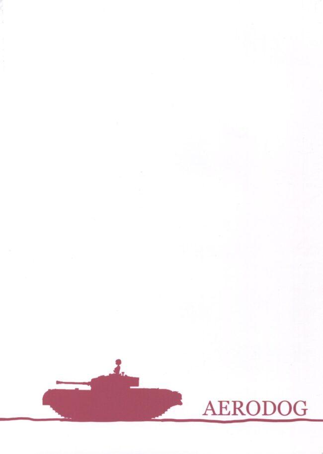 【エロ同人誌 ガルパン】オレンジペコはダージリンに言われ下着姿のローズヒップと一緒に男性にフェラチオして乱交中出しセックス【無料 エロ漫画】_(2)