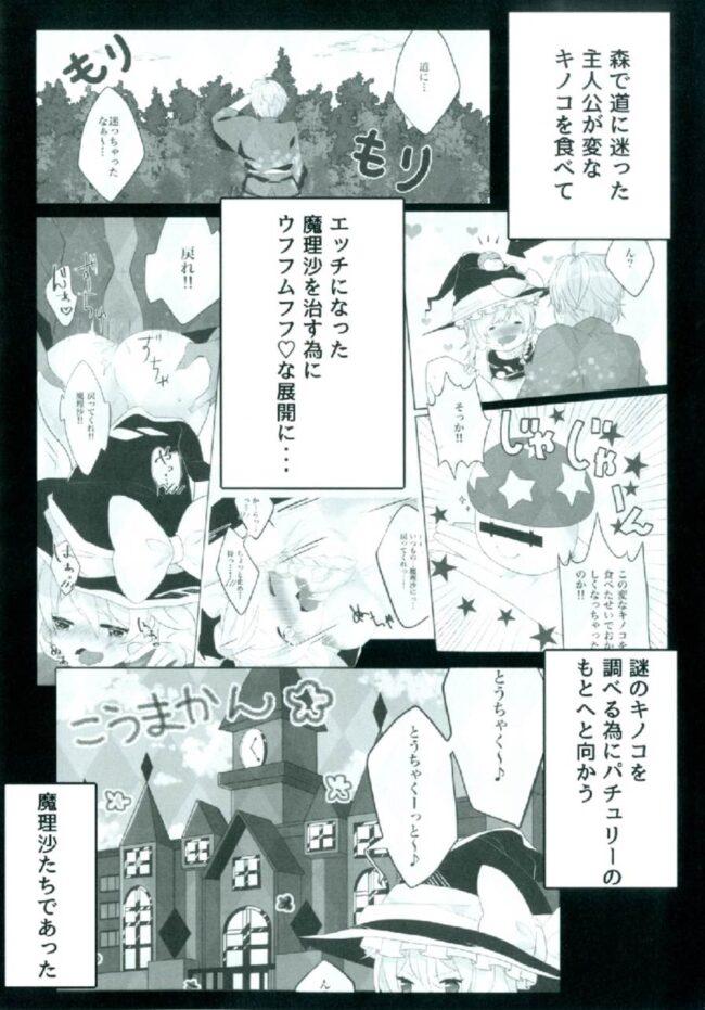 【エロ同人誌 東方】えっちな幻想郷~パチュリーとえっちな魔法編~【無料 エロ漫画】 (3)