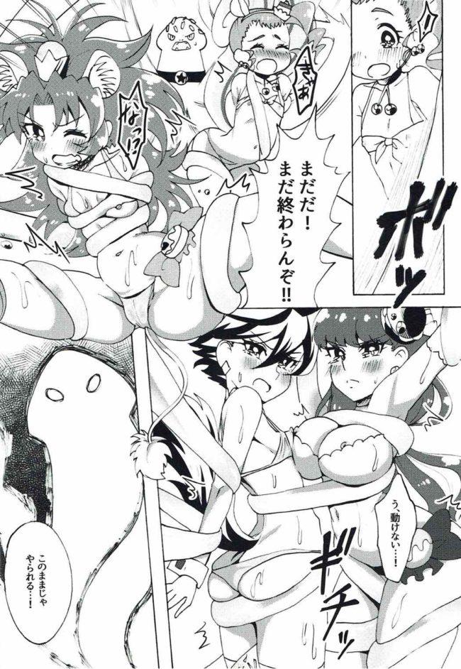 【エロ同人誌 プリキュア】ヌルブリ【エロ漫画】 (17)