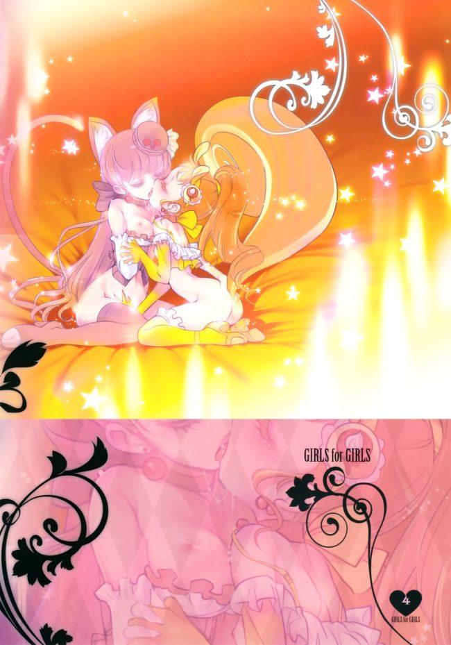【プリキュア エロ同人誌】少女用少女 Vol.1 プリキュアアラモード編【チョコレートショップ】 (3)