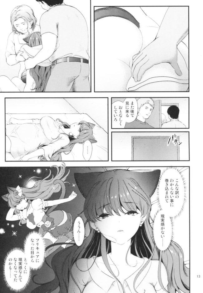 【エロ同人誌 プリキュア】絶対服従【無料 エロ漫画】 (13)