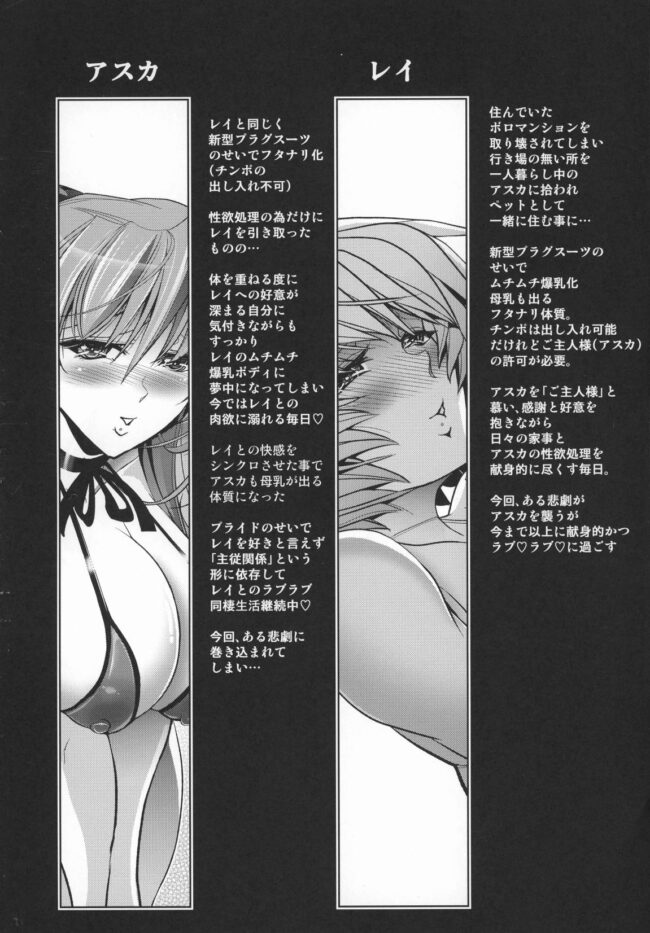 【エロ同人誌 エヴァンゲリオン】Lovey Dovey【無料 エロ漫画】 (3)
